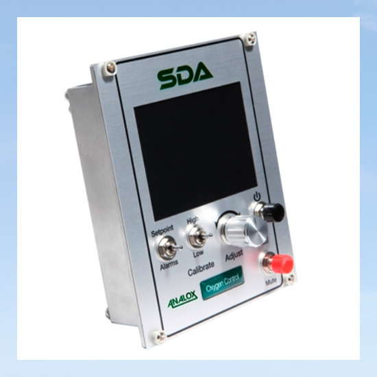 Analyser device for diving
