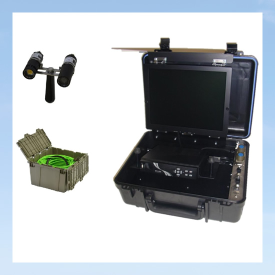 Video system for underwater