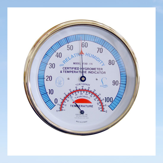 temperature & thermal hygrometer
